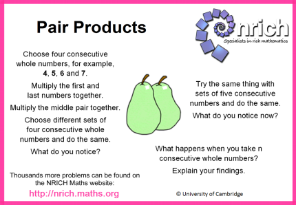Pair Products C