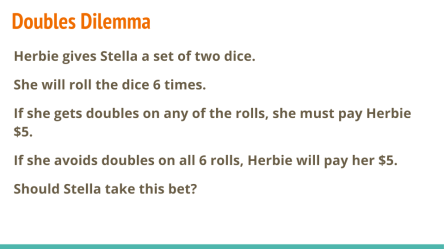 Doubles Dilemma (1)